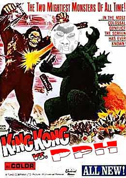 PPH vs King Kong vs Godzilla